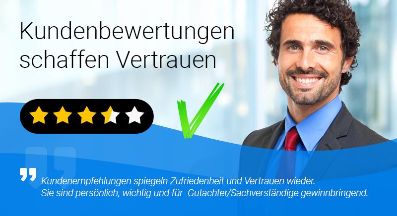 Kundenbewertungen erhalten